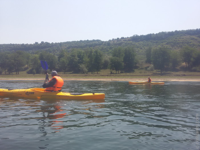 Kayaking pe Nistru